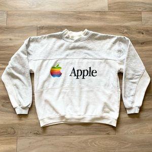 Vintage 80s/90s Apple Sweatshirt Pullover Men's M